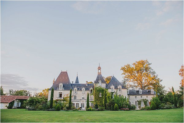 wedding at Château Charmant France