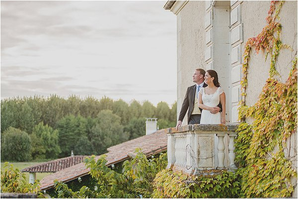 wedding at Chateau Charmant