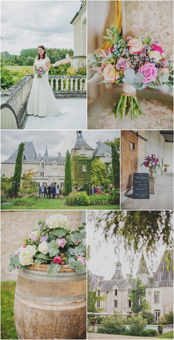 wedding at Château Charmant