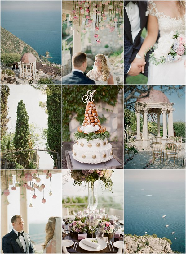 INTIMATE WEDDING AT CHATEAU DE LA CHEVRE D'OR FRANCE