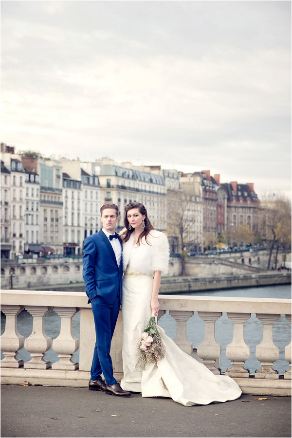 wedding couple Paris