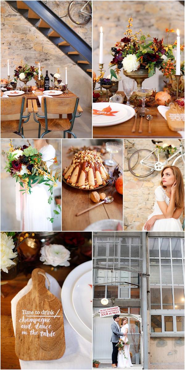 Autumn Wedding Inspirational shoot