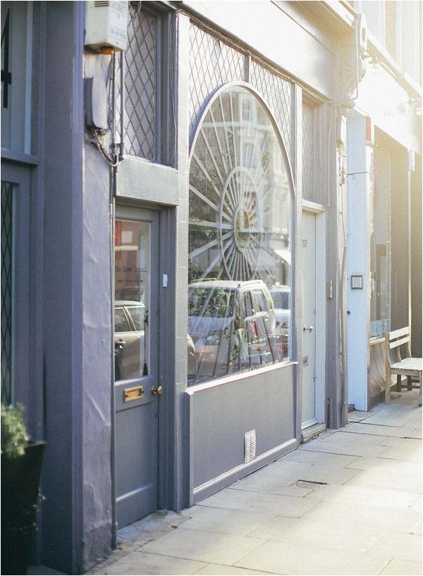 Bridal boutique Notting Hill London