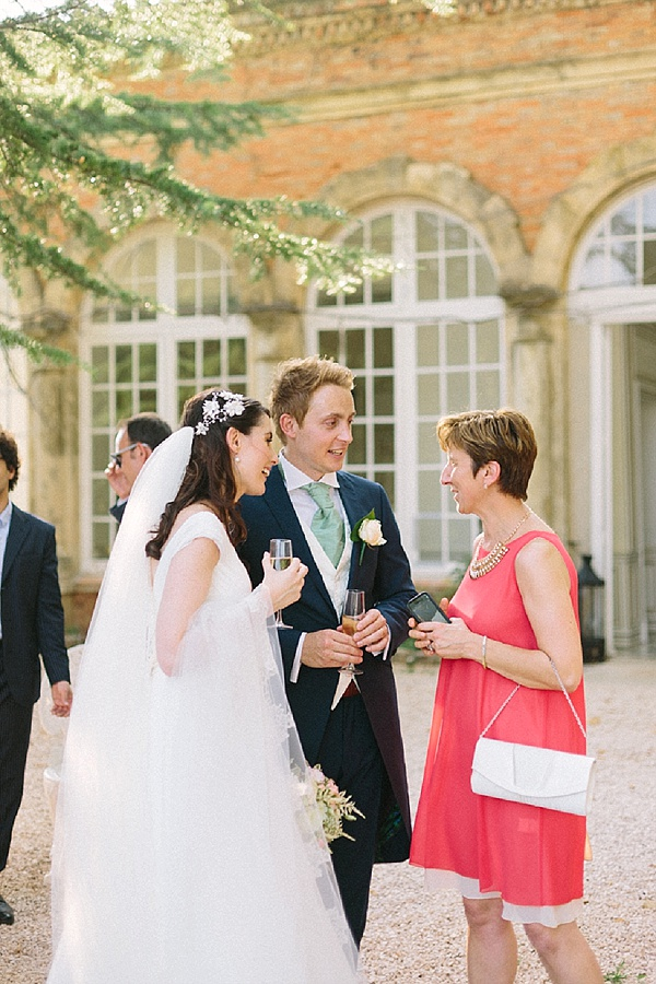 Champagne reception after ceremony