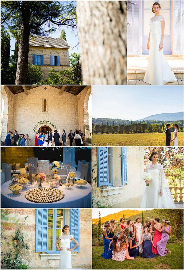 Chic Provencal Themed Wedding