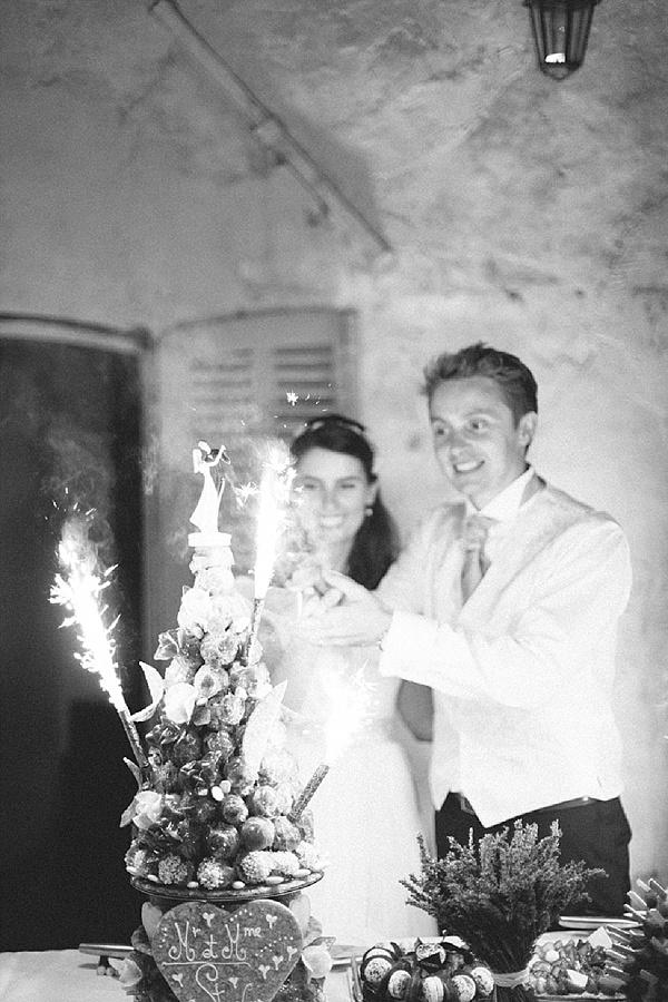 Crocembouche wedding