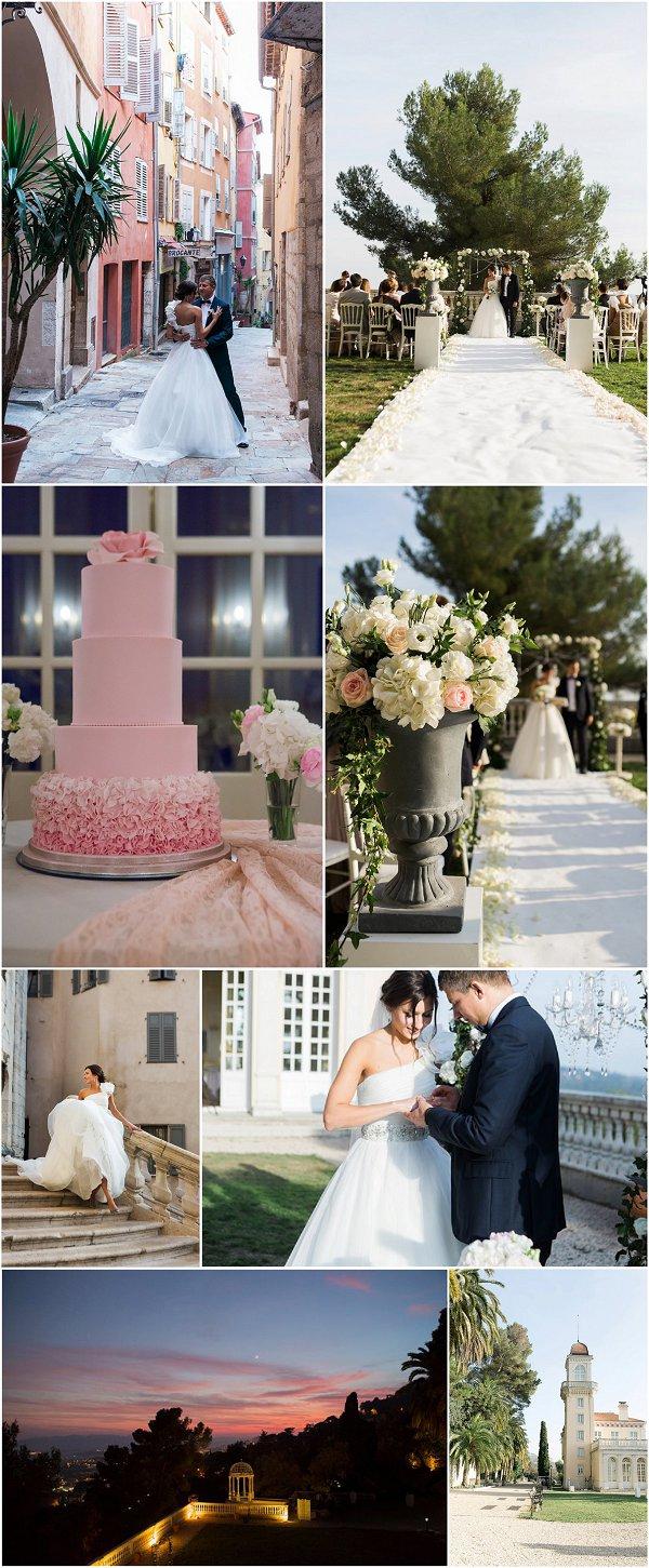Destination pastel wedding in Grasse France Snapshot