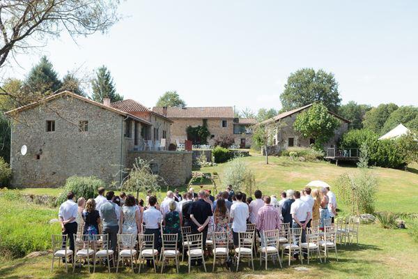 Domaine de Grolhier Wedding venue in South West of France