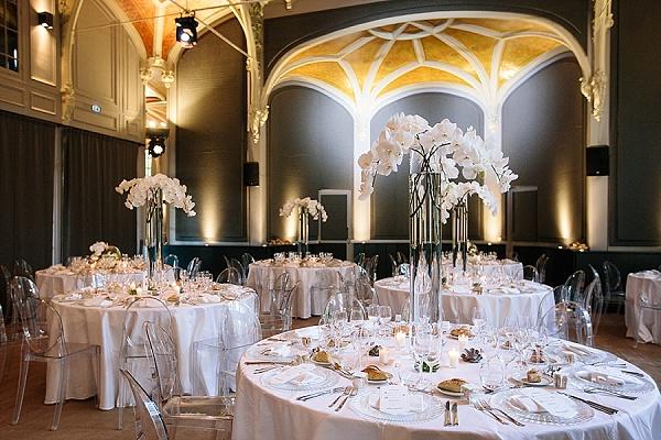Elegant wedding at Tir aux Pigeons
