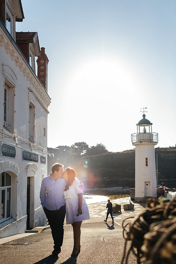 Engagment shoot in Quiberon