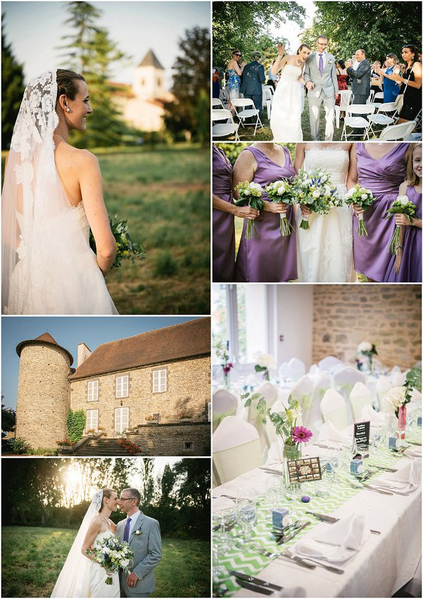 Fairy tale Auvergne Wedding Snapshot