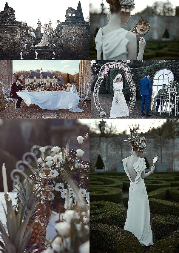 French Secret Garden Wedding Inspiration Snapshot