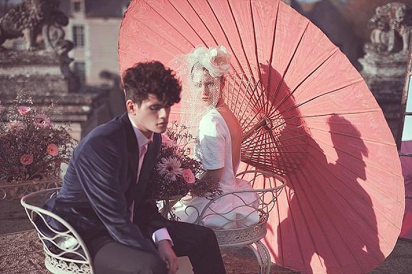 French Secret Garden wedding Inspiration