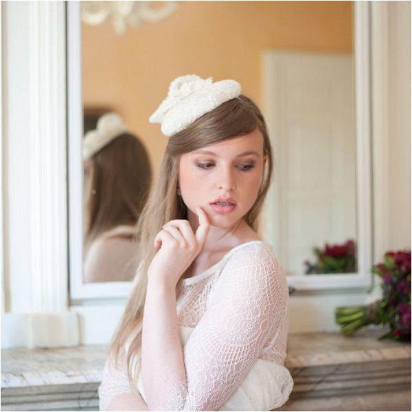 French bridal petit cap