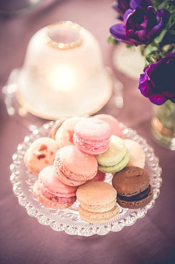 Macaron wedding day treats