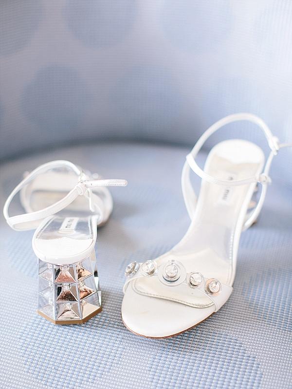 Miu Miu bridal shoes