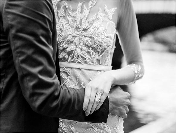 Paolo Corona couture wedding dress
