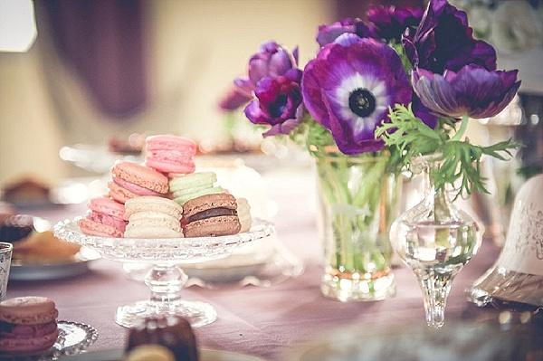 Pastel colour macaron for wedding