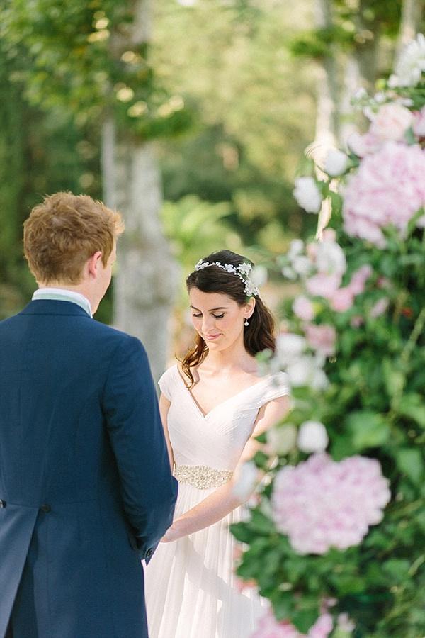 Provence outdoor wedding