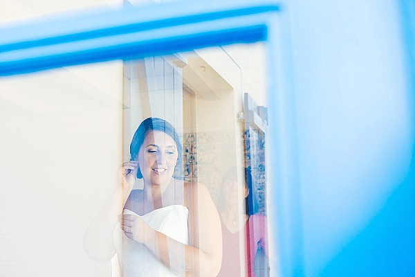 Refection wedding photography