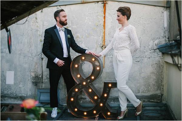 Rock n roll wedding inspiration Paris
