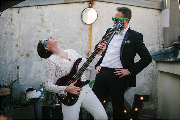 Rock n roll weddings