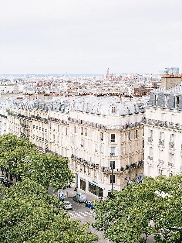 Rooftop Paris wedding