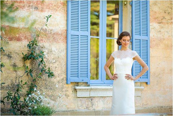 Rosa Clara bride in Provence
