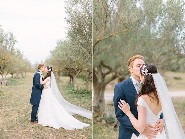 Stunning bride and groom portraits