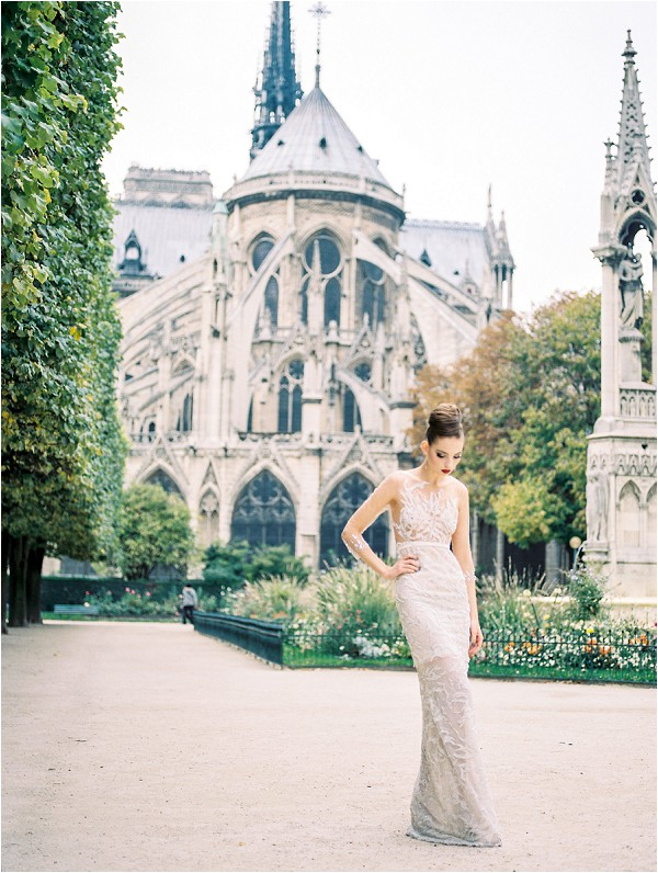 Stylish Eloping Inspiration in Paris