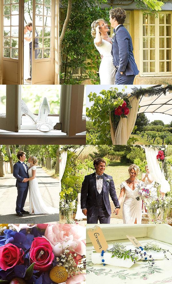 Summer wedding in Languedoc France Snapshot