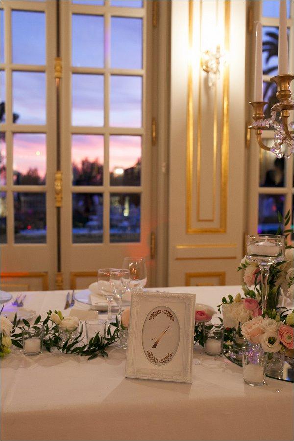 Sweet pastel wedding table decorations