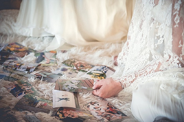 Wedding day reminicing