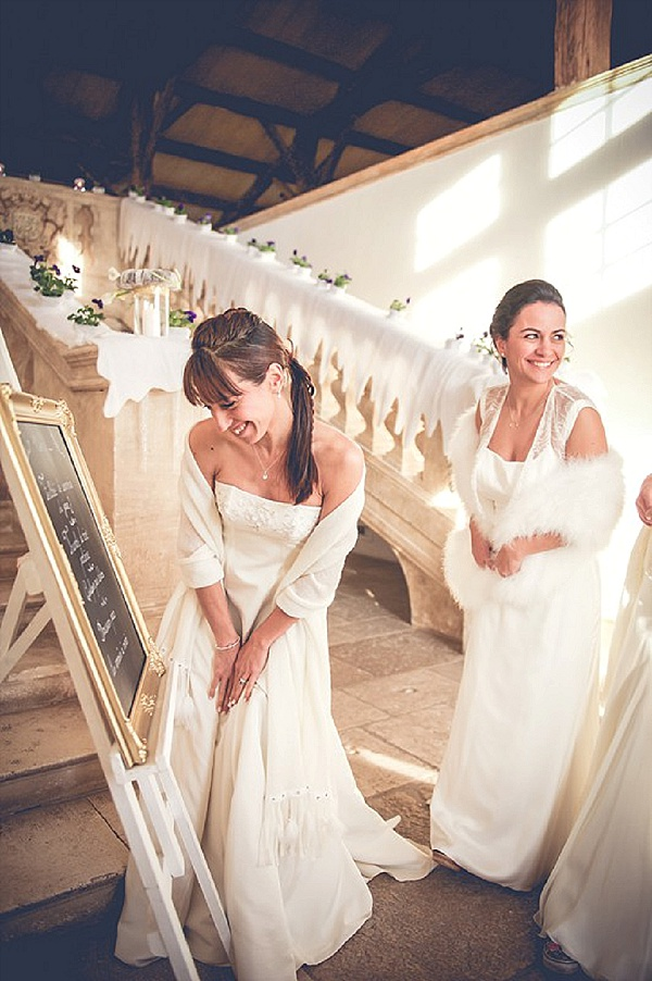 Wedding day shawl