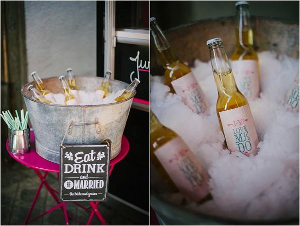 alternative wedding drinks