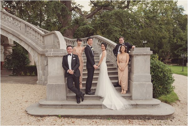 black tie wedding in France