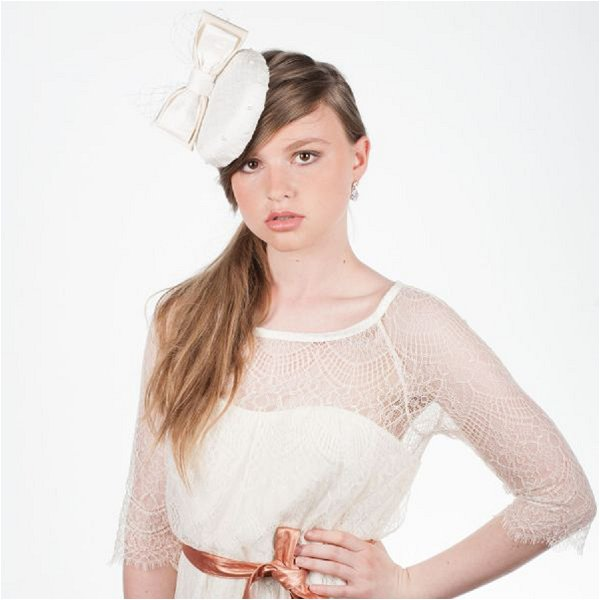 bridal fascinator from France