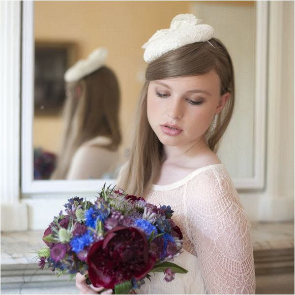 delicate bridal hair accessory