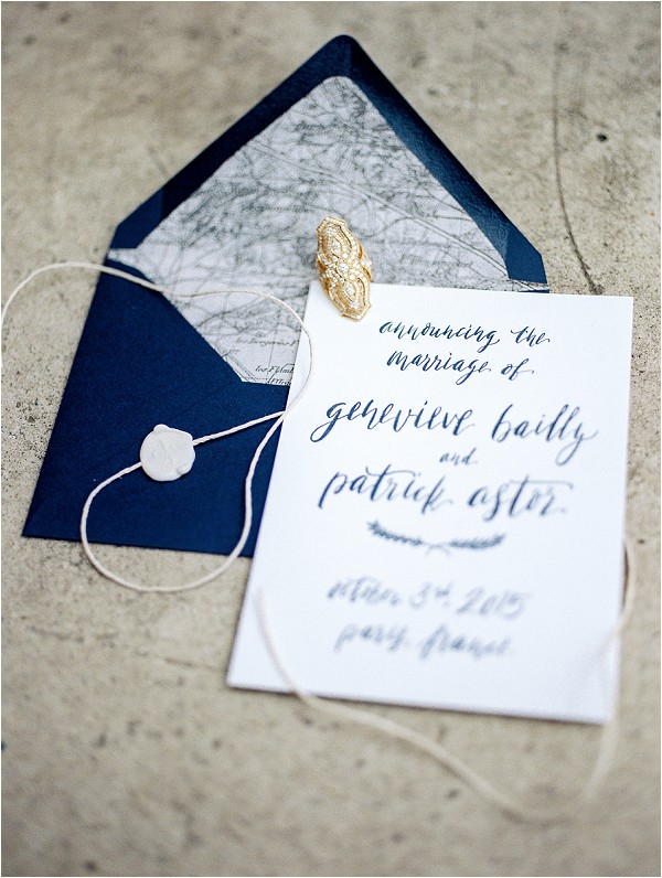 eloping announcements stationery