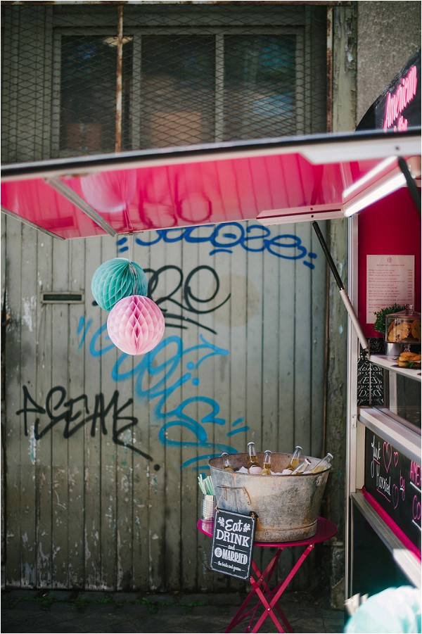 food truck in Paris, American Coffee