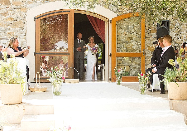 high split wedding dress