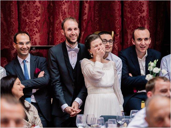 newlyweds enjoy the hilarious family entertainment