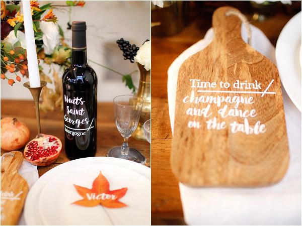 personalised wedding props