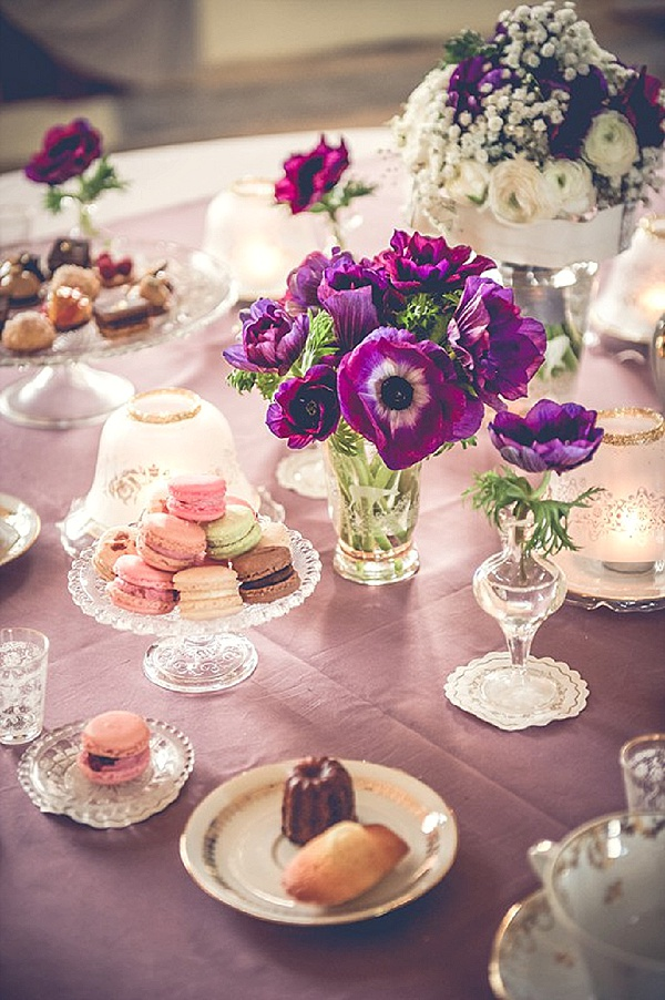 sweet wedding canapes