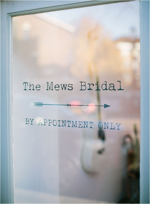 The Mews Bridal Notting Hill