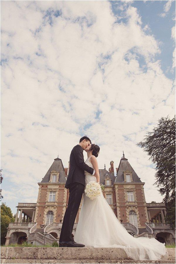 wedding at Chateau Bouffemont