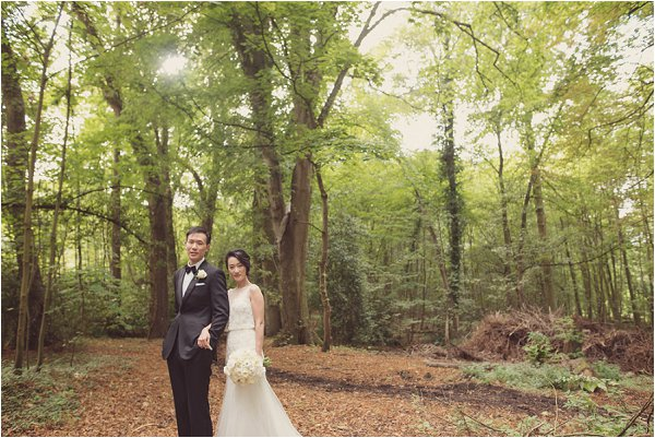 woodland wedding France