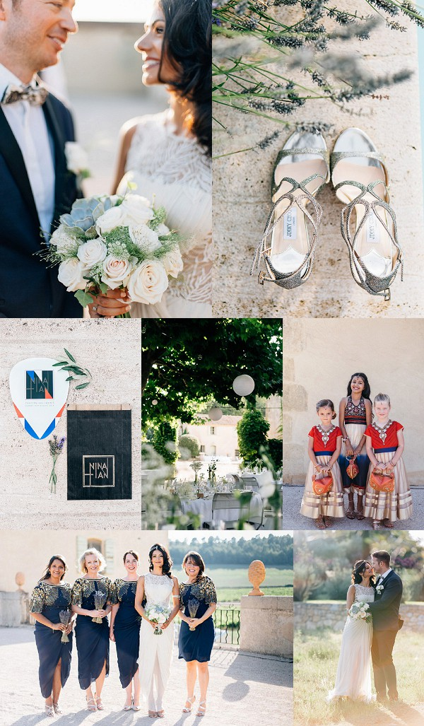 A Provencal Countryside Indian Inspired Wedding Snapshot