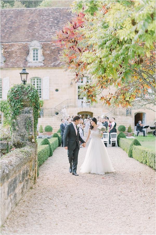 Autumn Chateau wedding Dordogne