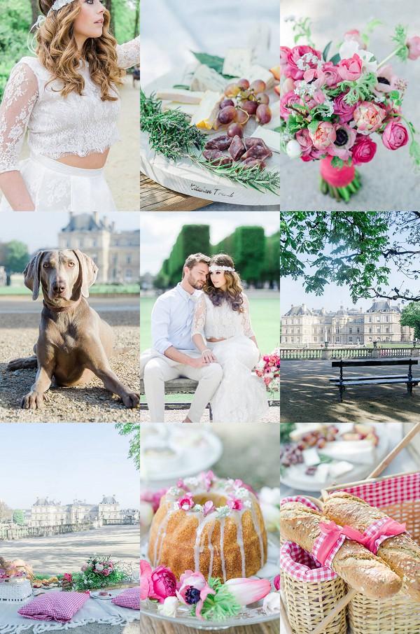 Bohemian Wedding in Paris Snapshot